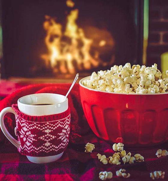 Organic Popcorn..a healthy snack!